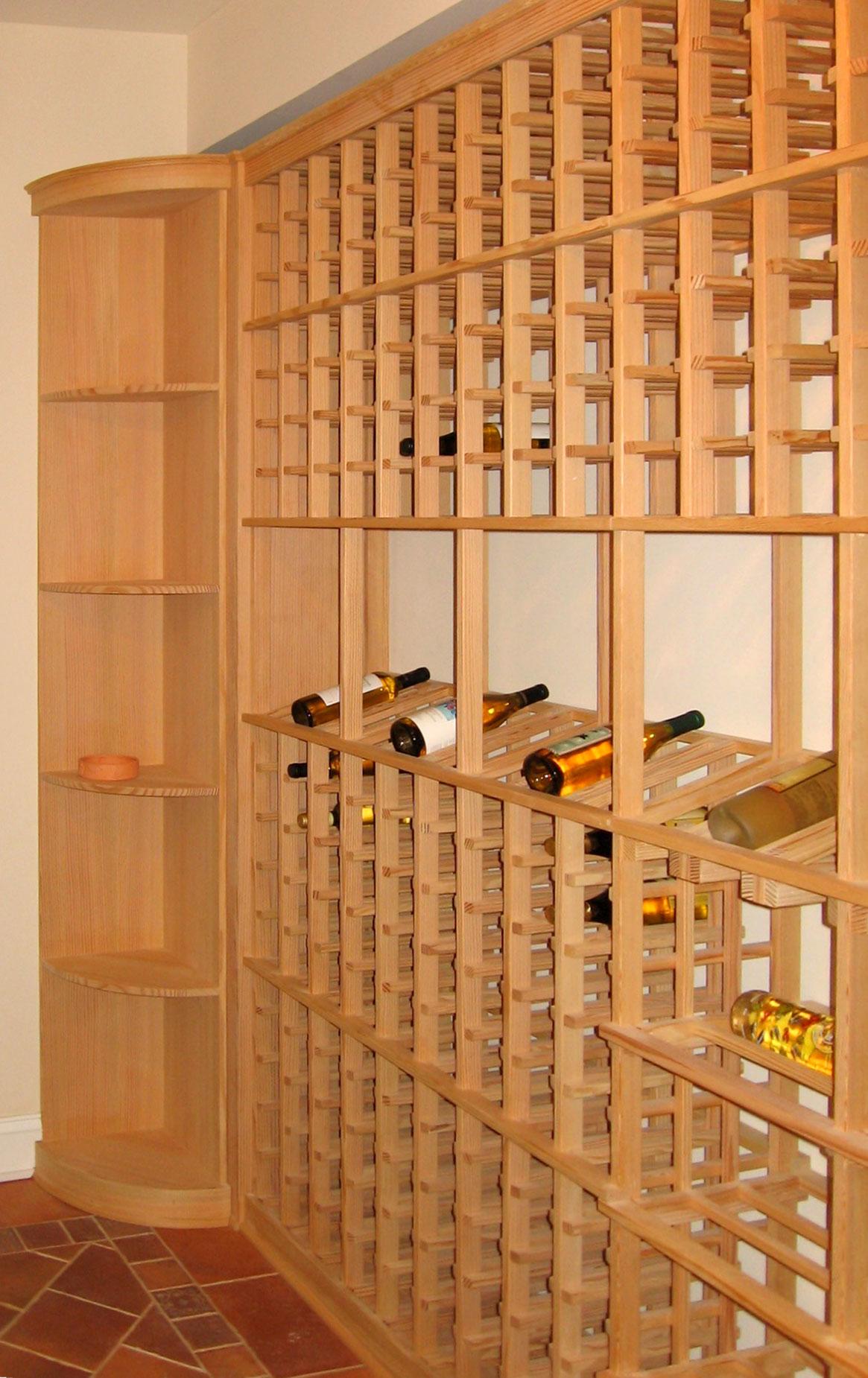 Wine Cellar  Lantz Custom Woodworking