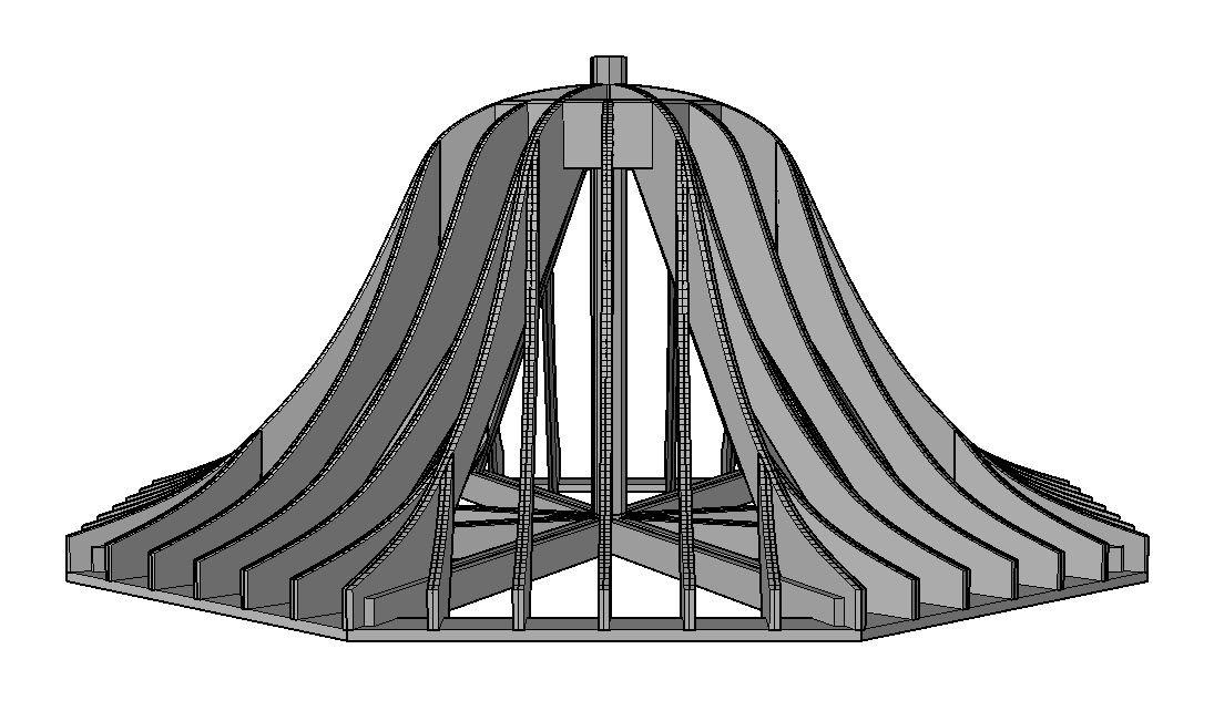 3D CAD Model | Lantz Custom Woodworking