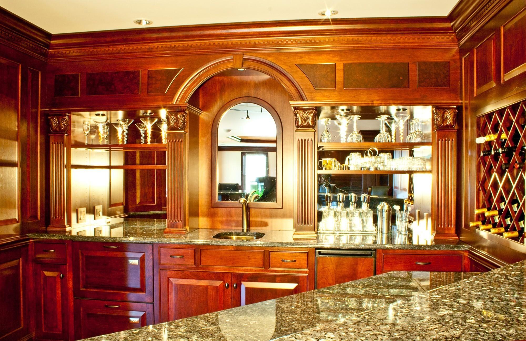 home bar lantz custom woodworking