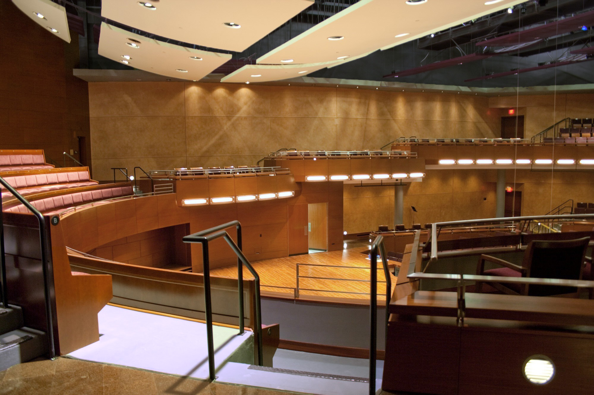 ... for the Performing Arts – Concert Hall | Lantz Custom Woodworking