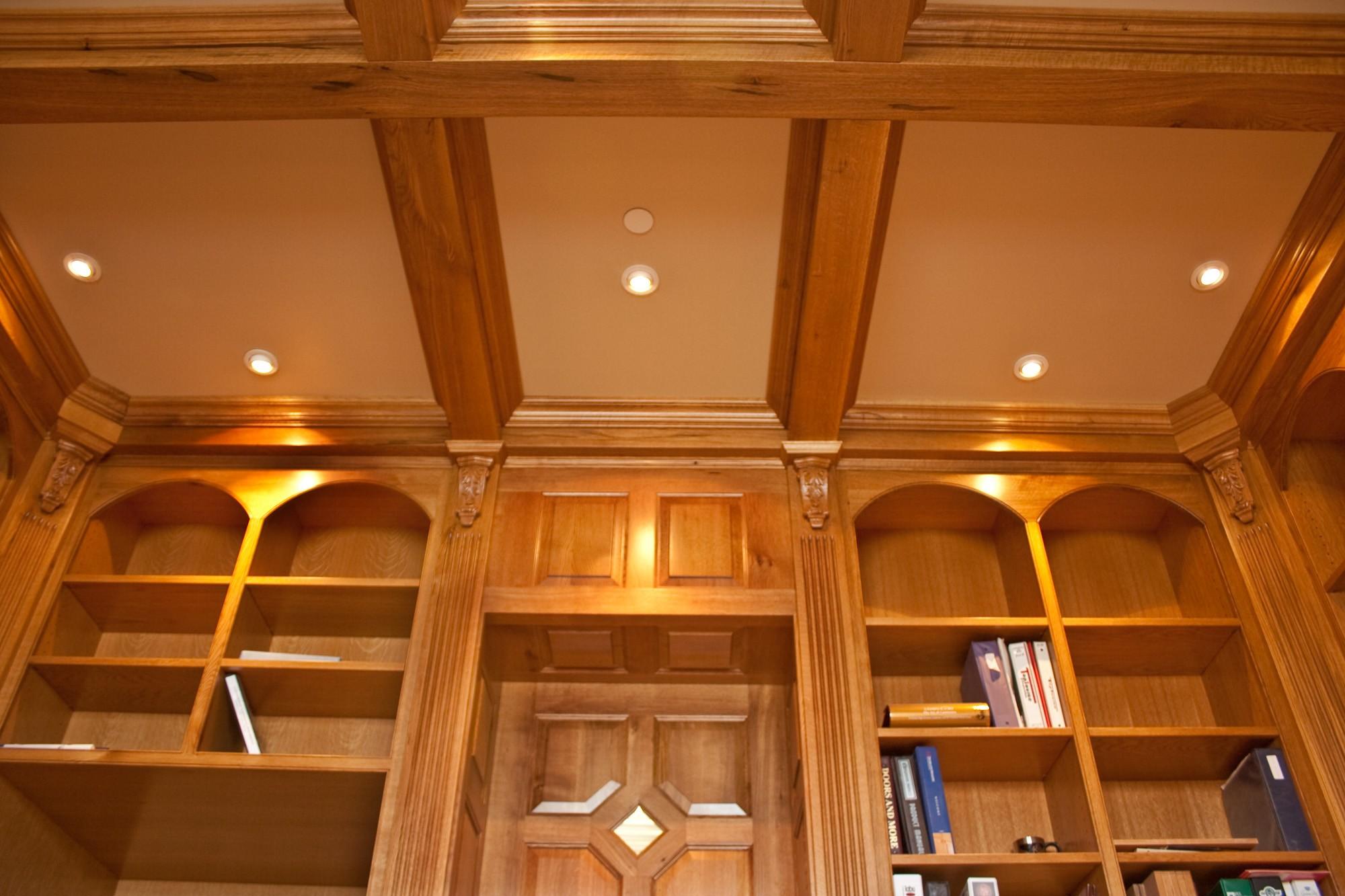Panel quarter sawn white oak interior door craftsman interior doors - Woodharbor Quarter Sawn White Oak Kitchen Cabinet Door Finishes