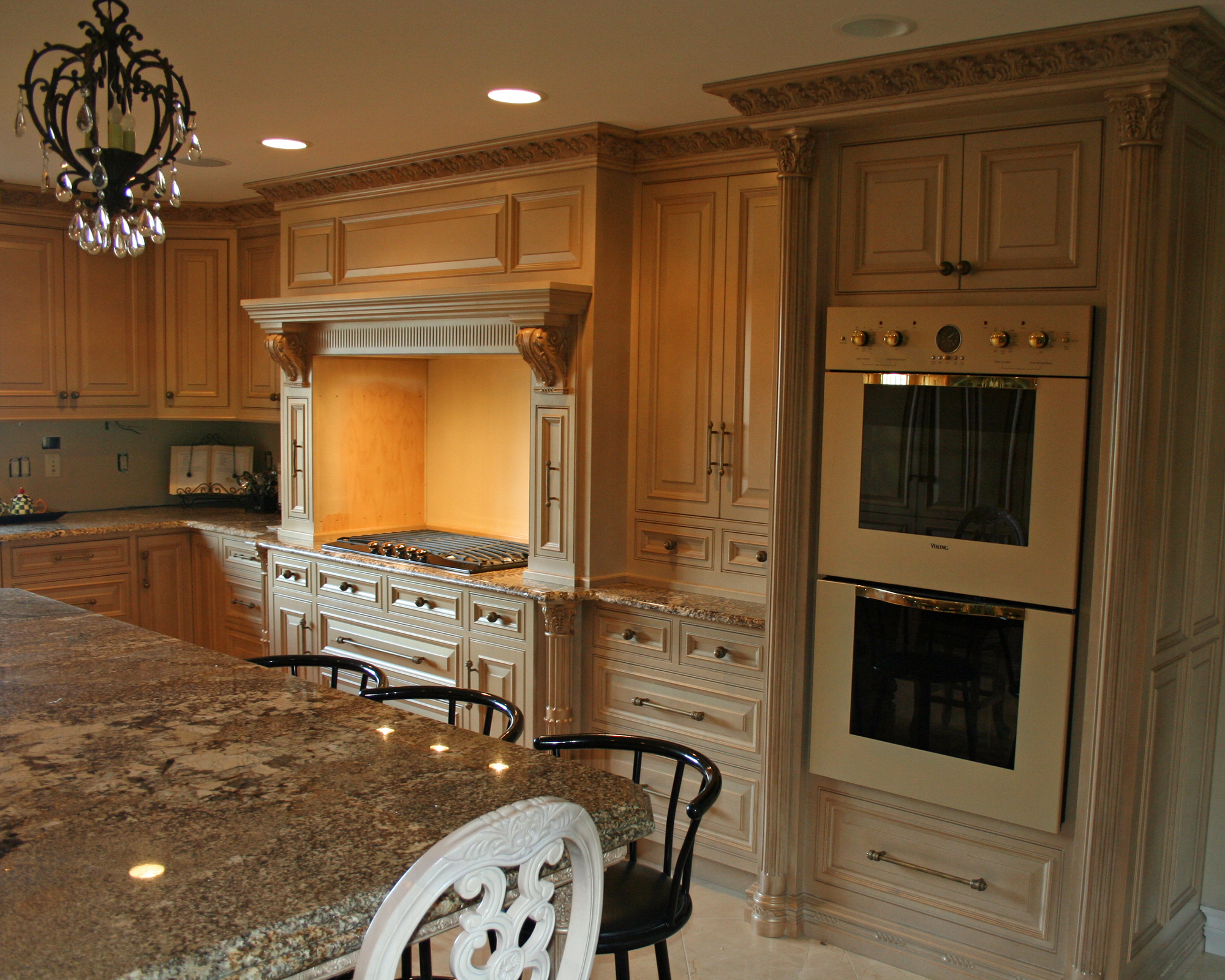Ornate Kitchen Cabinets Lantz Custom Woodworking
