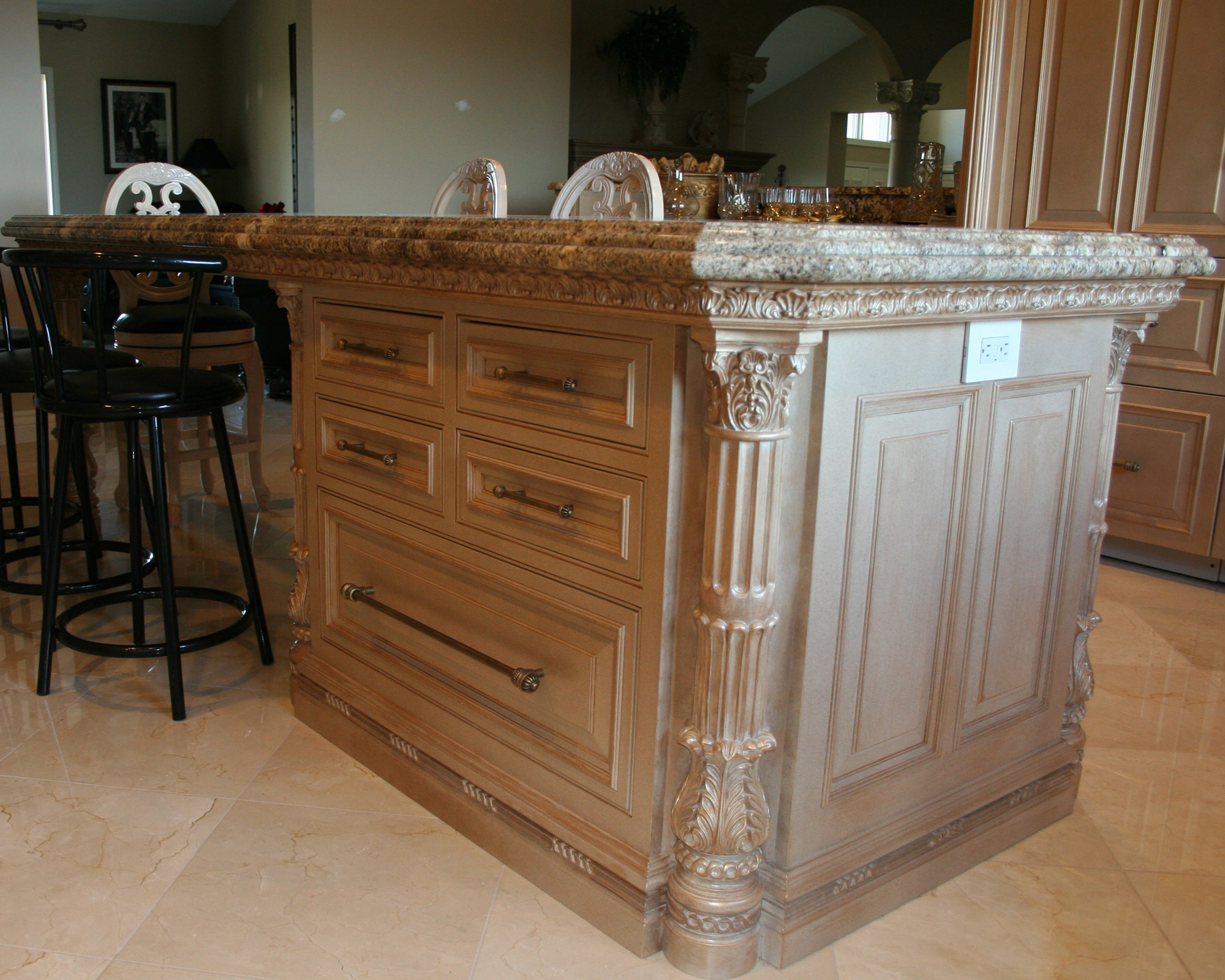 Island cabinet lantz custom woodworking for Kitchen island cabinets