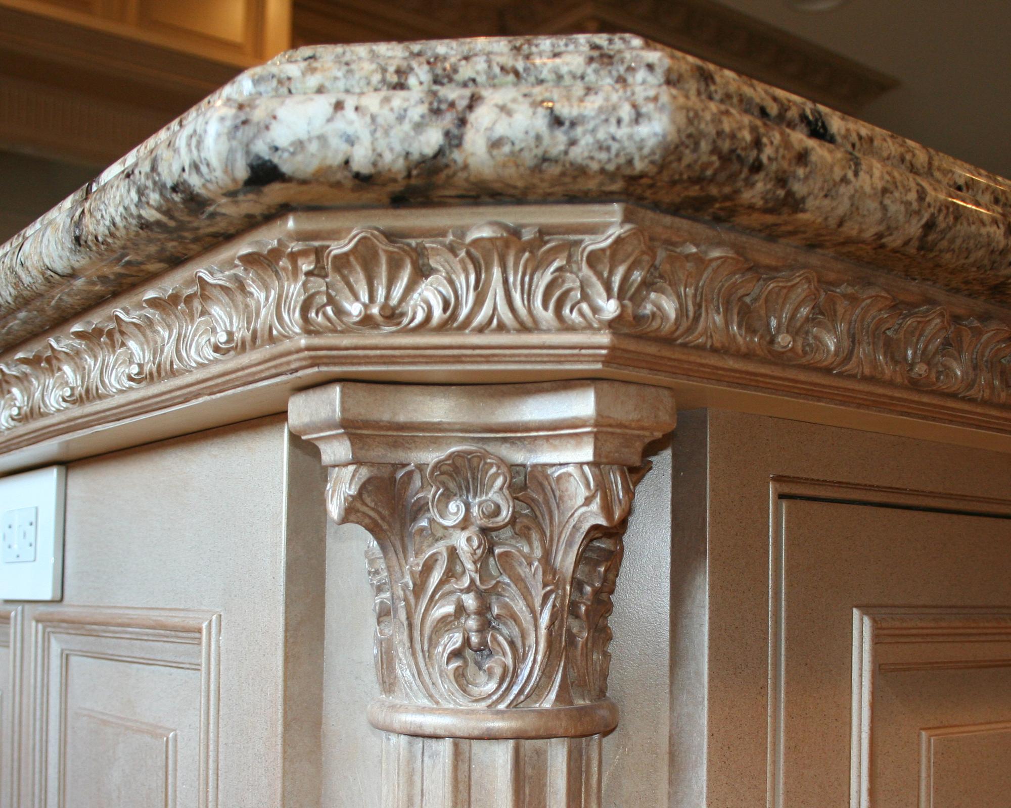 Cabinet details | Lantz Custom Woodworking