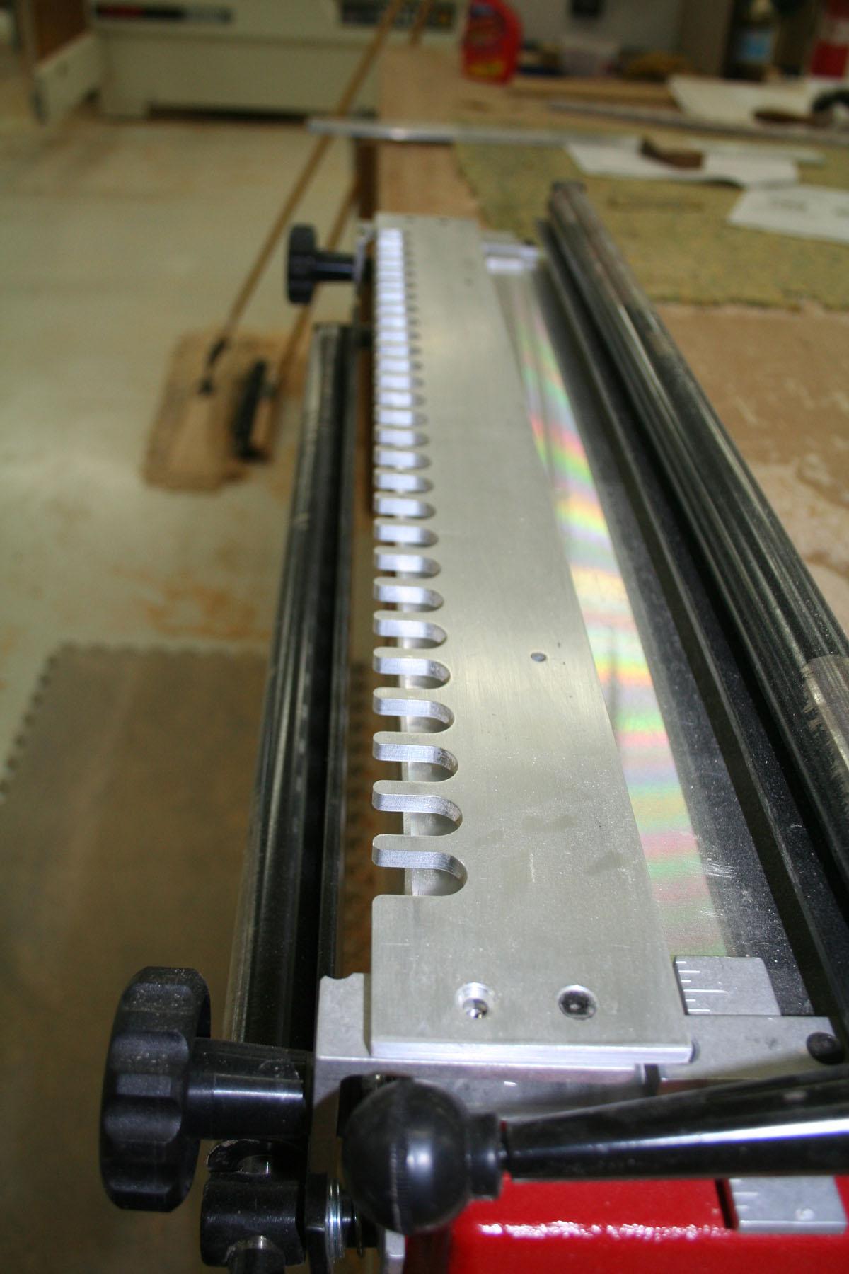 Porter cable omnijig 24 half blind dovetail template for Porter cable dovetail jig templates