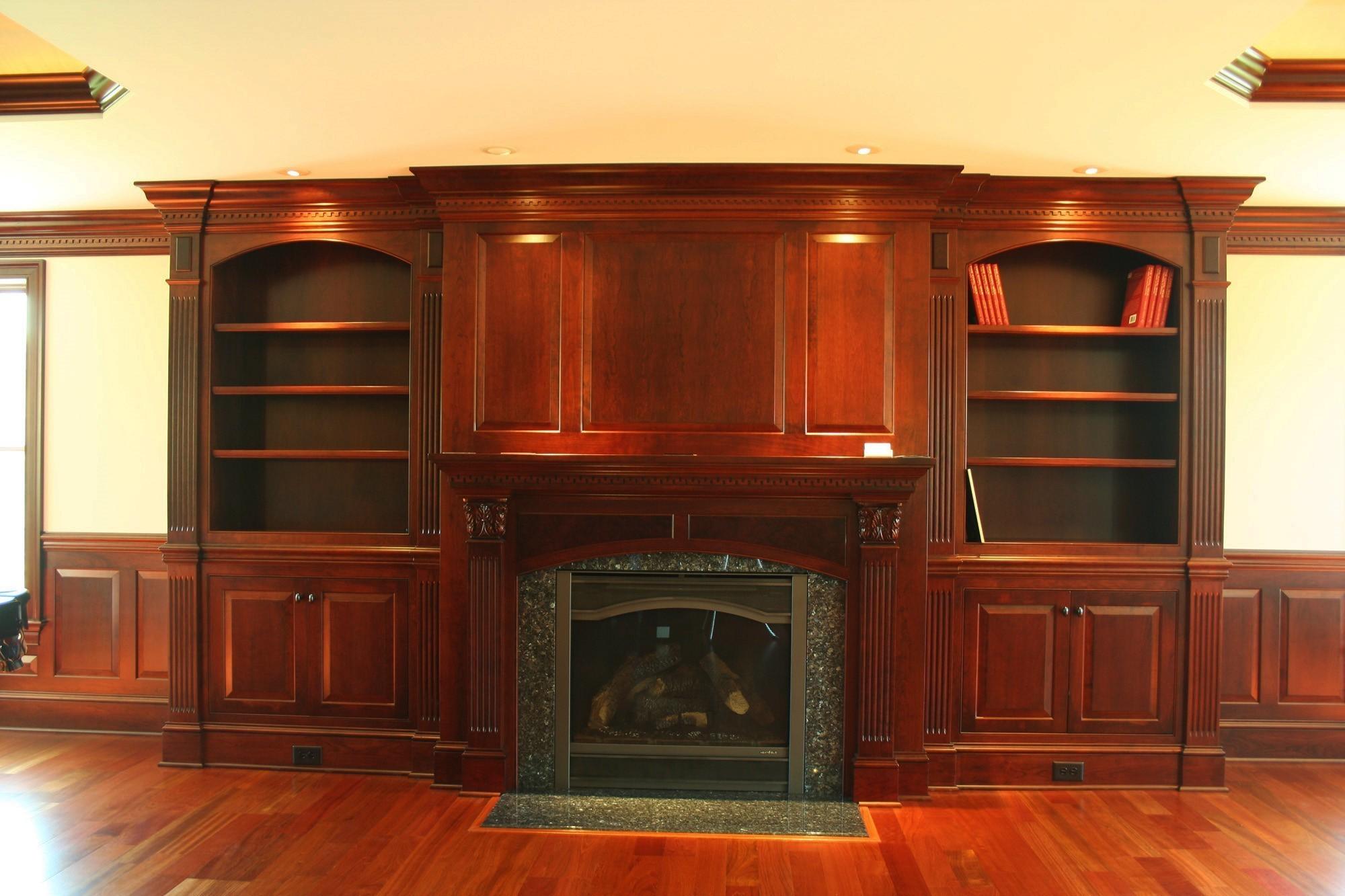 Fireplace Surround   Lantz Custom Woodworking